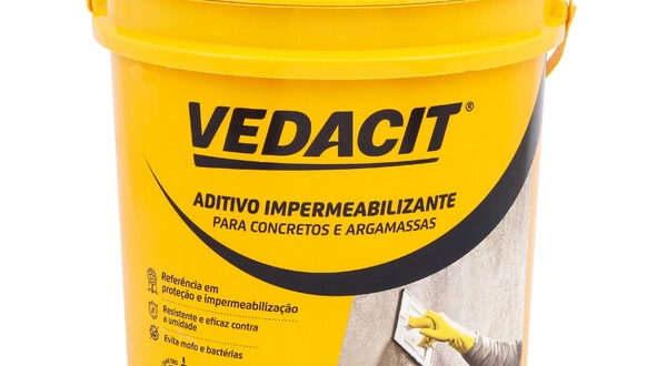 Aditivo Impermeabilizante Concreto e Argamassa 18kg Vedacit
